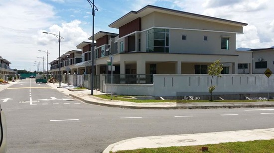 2 storey SEMI DETACHED, Corner Lot |Green Hill Park, Inanam  120154688