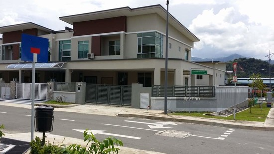 2 storey SEMI DETACHED, Corner Lot |Green Hill Park, Inanam  120154691