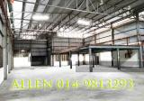 1 1/2 Detached Factory in Larkin Rent - Property For Rent in Malaysia