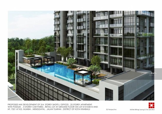 The Bay Residences| Luxury Super Condo| Corner| Likas Bay  91205771