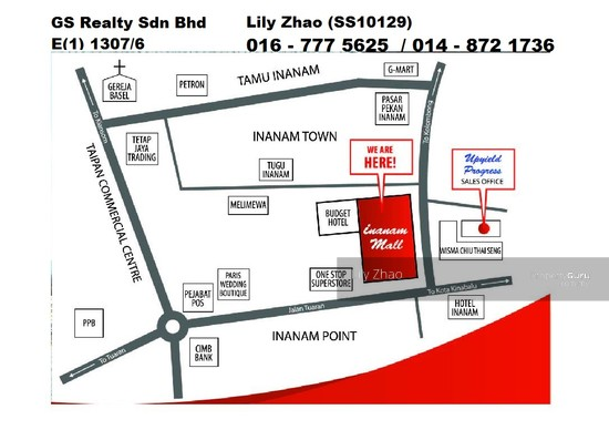 INANAM SHOPPING MALL |Ground Floor| Inanam City  98085230