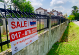 Taman Yarl 10,000 sf  flat freehold land - Property For Sale in Malaysia