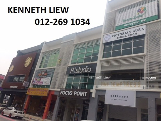 Sri Petaling Corner Whole Block 2-sty Shop Office  126799179