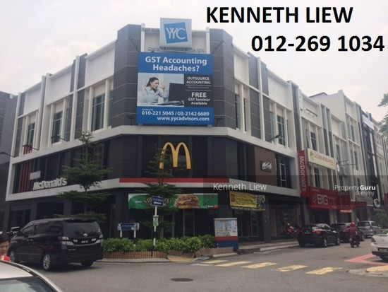 Sri Petaling Corner Whole Block 2-sty Shop Office  126799180