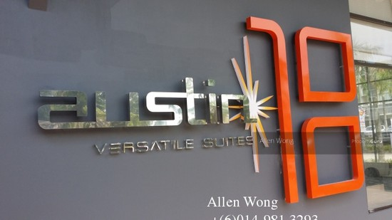 Austin 18 - Versatile Business Suites PLS CONTACT ALLEN AT 014-9813293 FOR MORE DETAILS AND VIEWING APPOINTMENT ON AUSTIN 18 108451610