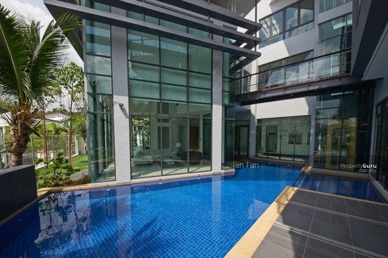 Fully Furnished 3-sty Bungalow, Damansara Heights, KL Swimming pool 108857543