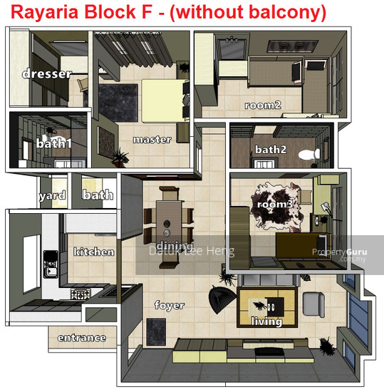 The Rayaria Condominium  129653394