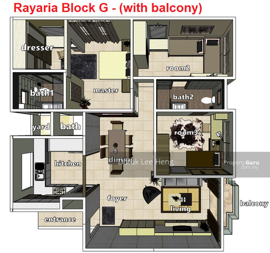 The Rayaria Condominium  129653395