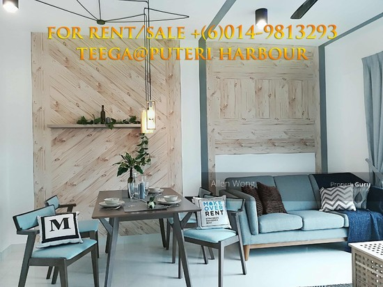 Teega Residences @ Puteri Harbour Please Call/Whatsapp or Sms +(6)014 9813293 for viewing appointment at Teega Residences. Thanks!  115222250