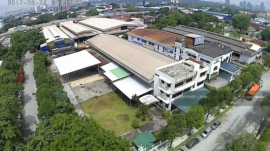1.4 acre industrial land with building in Chan Sow Lin KL City Centre  116748569