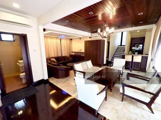 3 storey Bungalow with Lift TTDI Hills Living hall 117302021