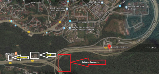 Middle Ring Road Gombak Land Location 118013147