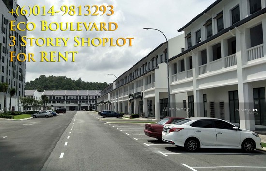 Eco Boulevard - 3 Storey Shoplot@Eco Botanic For RENT Eco Boulevard - 3 Storey Shoplot@Eco Botanic For R 118497380