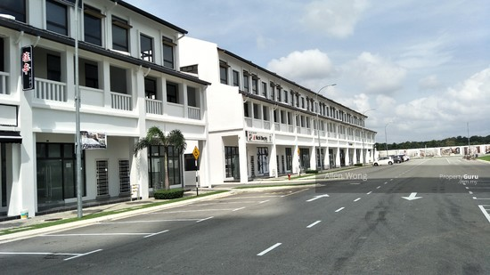 Eco Boulevard - 3 Storey Shoplot@Eco Botanic For RENT  126430744