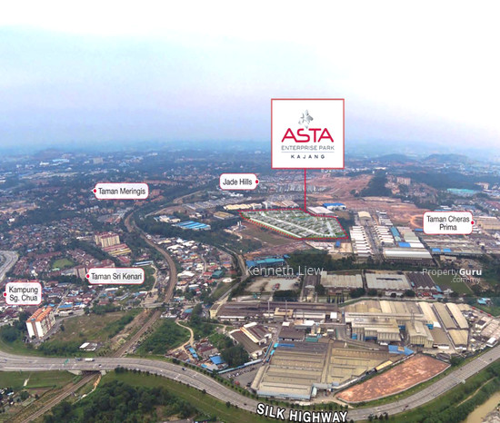 1 acre industrial land in a Gated Guarded Factory Zone in Asta Industrial Park, Jade Hill, Kajang  123458237