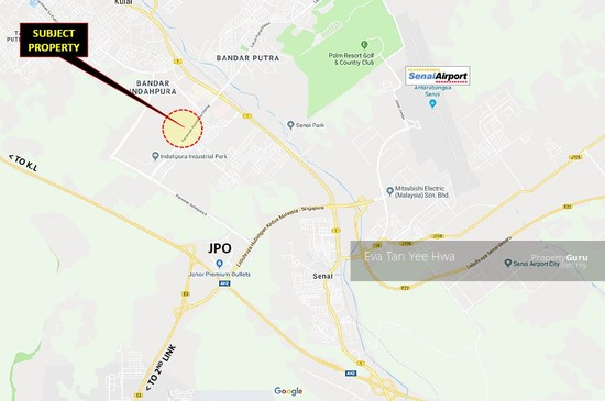 Kulai 2.3 Acres Industrial Land for Sale  129724566
