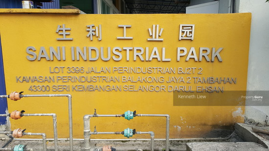 3 storey gated guarded factory in Sani Industrial Park, Balakong Jaya, Jalan BJ2/2, Balakong  124353134