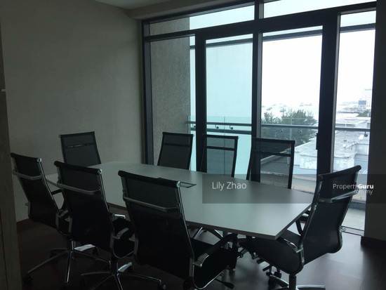 Luxury Ready Office | Renovated ,Fully Furnished | Duplex unit | Top Floor | Riverson SOHO | KK City  125584577