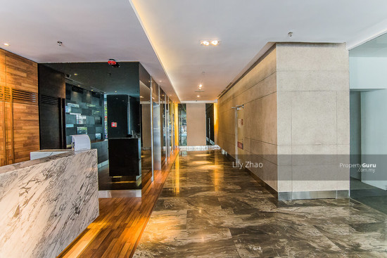 Luxury Ready Office | Renovated ,Fully Furnished | Duplex unit | Top Floor | Riverson SOHO | KK City  125585531