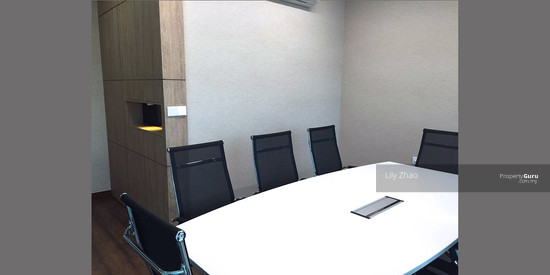 Luxury Ready Office | Renovated ,Fully Furnished | Duplex unit | Top Floor | Riverson SOHO | KK City  125586674