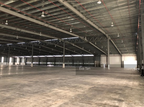 Tg Pelepas 4 Acres Land Free Trade Zone Warehouse c/w 2 Storey Office with 1000Amp for Rent  126602168