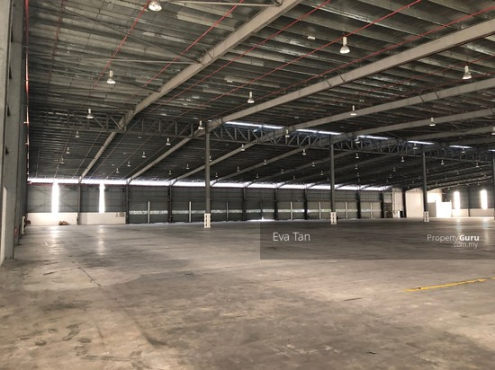Tg Pelepas 4 Acres Land Free Trade Zone Warehouse c/w 2 Storey Office with 1000Amp for Rent  126602169