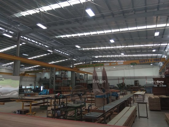 Kulai I-Park @ Indahpura 600Am Power Detached Factory with Mezz. Office for Sale  126764147