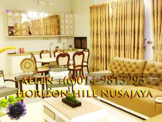 Horizon HIll Canal Garden Cluster Unit@Nusajaya Canal Garden cluster Unit located at Horizon Hills4 bedroom cluster house for rent, fully furnished. 127452664