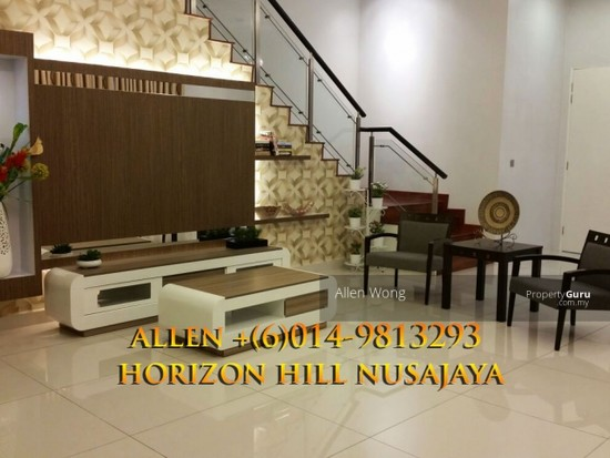 Horizon HIll Canal Garden Cluster Unit@Nusajaya Canal Garden cluster Unit located at Horizon Hills4 bedroom cluster house for rent, fully furnished. 127452680