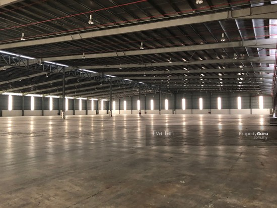 Tg Pelepas 4 Acres Land Free Trade Zone Warehouse c/w 2 Storey Office with 1000Amp for Sale  127570853