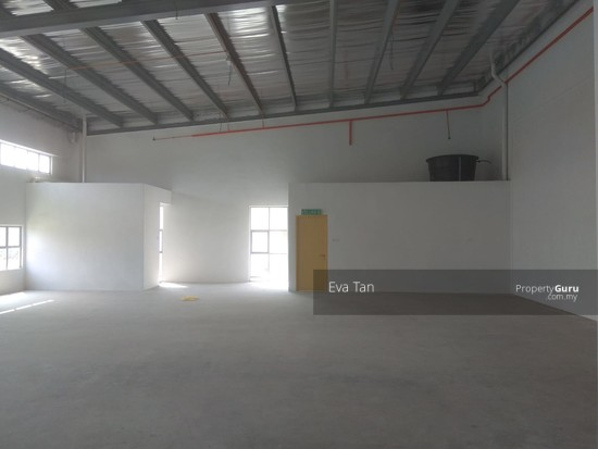 Iskandar Puteri Tiong Nam Silc 6, Nusajaya 200 Amp Power Semi-D Factory with 2 Mezz. Office for Rent  128113552