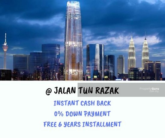 FREEHOLD NEW SERVICE SUITE , INSTANT CASHBACK RM 160K  136321182
