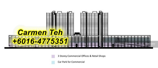 New Commercial Shoplots @ Batu Kawan  129937591