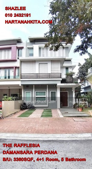 3 Sty Semi D House, The Rafflesia, Damansara Perdana, Damansara  130012781