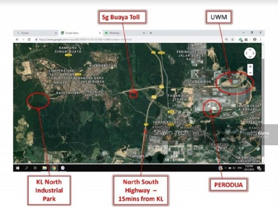 30-min via PLUS highway fr Tg Malim Ind Park to New 2-Storey Factory  132000086