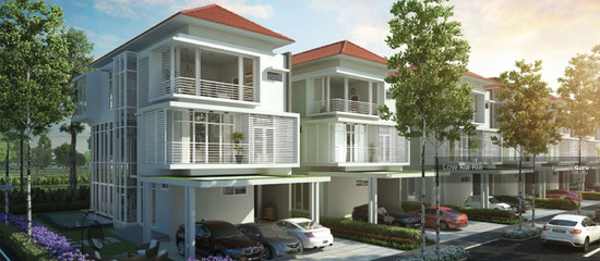 Luxurious Terrace House Batu Kawan  132349364