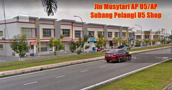 Subang Pelangi U5 Shop For RENT  133071600