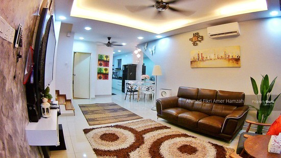 [ GROUND FLOOR ] Double Storey Townhouse Crestin Park Kajang  133073088