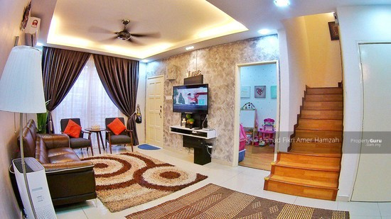 [ GROUND FLOOR ] Double Storey Townhouse Crestin Park Kajang  133073089