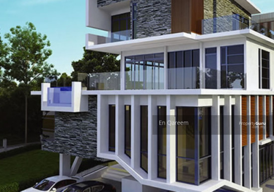 3 Storey Bungalow Exclusive Corner Lot Setia Alam. Shah ALam. Brand New with ID and Private Pool  133710149