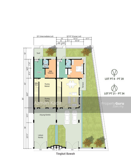 Newly completed with CCC 2 Storey Terrace Jugra Banting  136378461