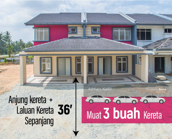 Newly completed with CCC 2 Storey Terrace Jugra Banting  136378469