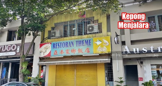 Kepong Menjalara Corner Shop For RENT  133991580