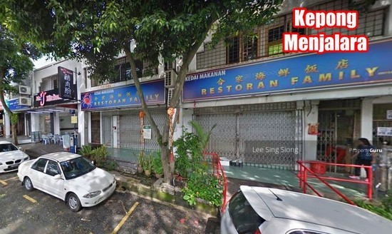 Kepong Menjalara Corner Shop For RENT  133991607