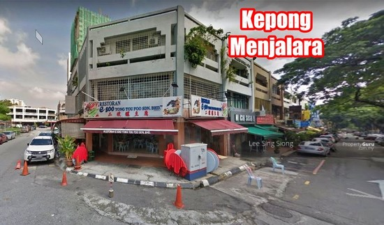 Kepong Menjalara Corner Shop For RENT  133991612