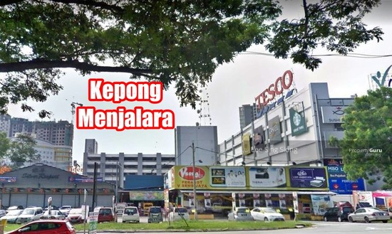Kepong Menjalara Corner Shop For RENT  133991616