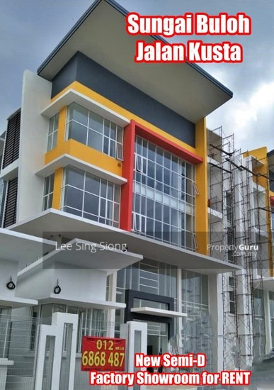 Sungai Buloh Factory Showroom For RENT  134049814