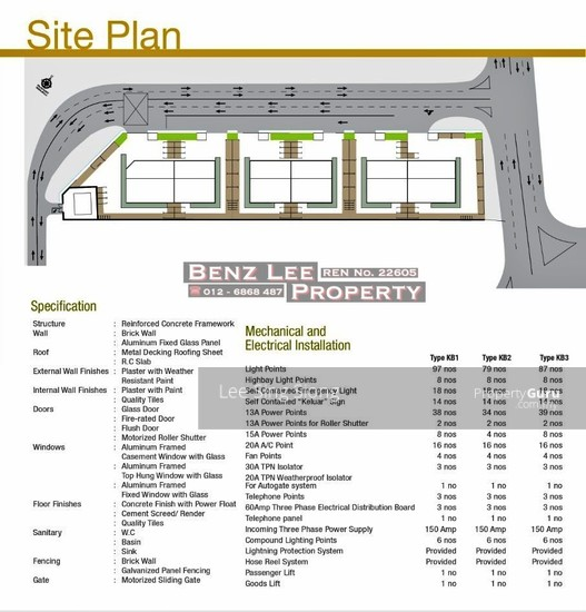 Sungai Buloh Factory Showroom For RENT  134049971