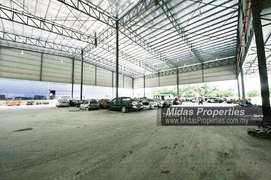 ARAB MALAYSIAN INDUSTRIAL PARK NILAI INDUSTRIAL ESTATE NEW WAREHOUSE WITH CF NEAR HIGHWAY  136987416