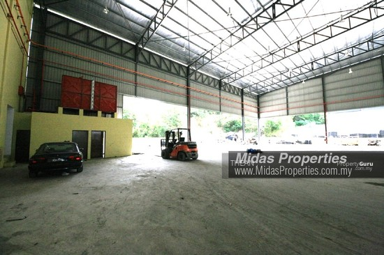 ARAB MALAYSIAN INDUSTRIAL PARK NILAI INDUSTRIAL ESTATE NEW WAREHOUSE WITH CF NEAR HIGHWAY  136987421